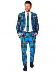 Opposuitsin™ skottiruutuinen miehen puku