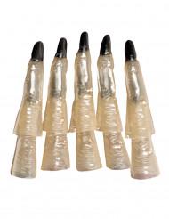10 pimeässä hohtavaa noidan sormea