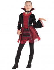 Halloweenin lyhyt vampyyritytön mekko lapselle