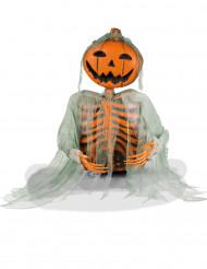Kurpitsa/luurankokoriste 52 cm halloween
