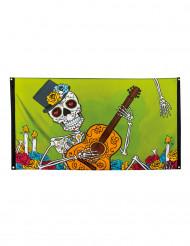 Dia De Los Muertos -banneri 90 x 150 cm