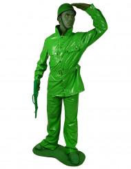 Vihreä Morphsuits™lelusotilasasu miehille