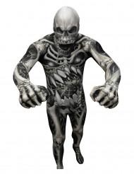 Aikuisten Halloween Morphsuits™ luuranko naamiaispuku