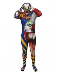 Aikuisten karmiva klovi Morphsuits™ Halloween-asu