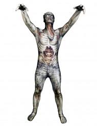 Aikuisten zombi hirviö toinen iho naamiaispuku Morphsuits™
