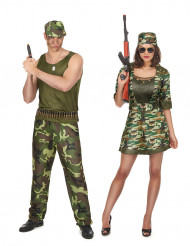 Sotilaat- pariasu aikuisille