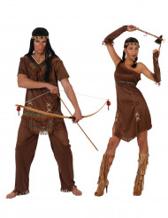 Ruskea intiaani- pariasu aikuiselle