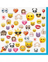 Emoji™ servietti 16kpl