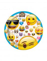 Emoji™ pahvilautaset 8 kpl