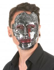 Aikuisten metallinen naamari