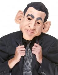 Muovinen naamari poliitikko