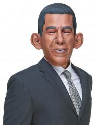 Aikuisten humoristinen lateksinen naamari Barack