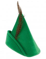 Metsien miehen vihreä hattu