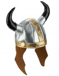 Metallinvärinen viikingin kypärä aikuisille