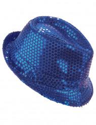 Sininen huopahattu