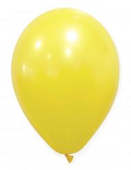 Keltaiset ilmapallot - 50 kpl