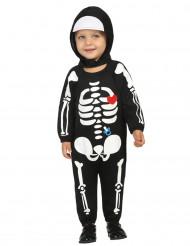 Halloween-luurankoasu vauvoille