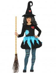 Noidan naamiaisasu tytölle halloweeniin