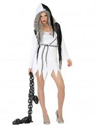 Viettelevä haamu Halloween-asu naisille