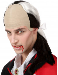 Vampyyrin kaljuotsainen peruukki miehelle halloween