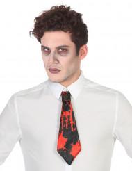 Verinen kravatti - Asusteet Halloweenjuhliin