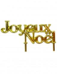Joulukakun Joyeux Noël-koriste 7 cm