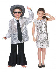 Hopeiset disco- pariasut lapsille
