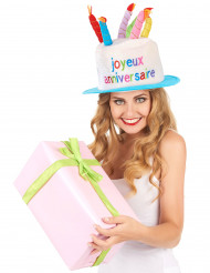 Hyää syntymäpäivää - hattu aikuiselle