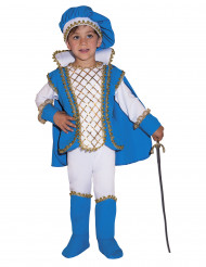 Sininen prinssin asu lapselle
