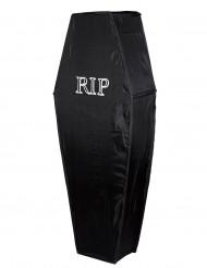 Musta RIP-arkku 150 cm halloween