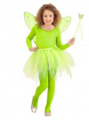 Vihreät keijun asusteet lapsille
