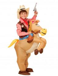 Lännen ratsumiehen asu lapsille