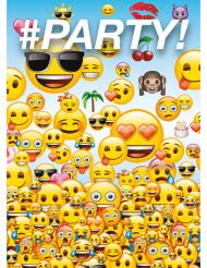 Emoji™ kutsukortit 8 kpl