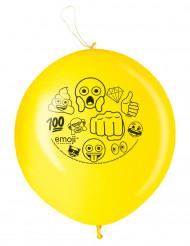 Ilmapallot Punching Ball Emoji™ - 2 kpl