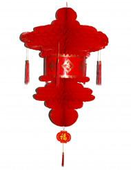Punainen kiinalainen paperilyhty