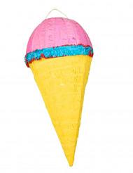 Jäätelötuutin muotoinen piñata