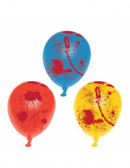 Lateksiset veriset ilmapallot 6 kpl halloween