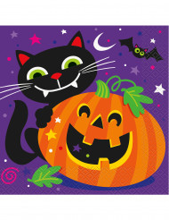Iloiset halloween servetit