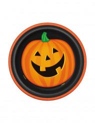 8 Halloween kurpitsalautasta