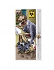 Zombie vessassa - Halloween ovikoriste