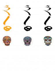 Dia De Los Muertos -spiraalikoristeet