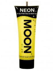 Moon Glow© Neon UV Glitter Face&Body Paint -keltainen