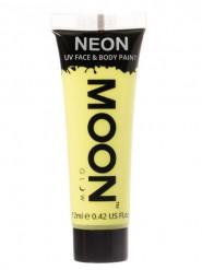 Moon Glow© Neon UV -pastellikeltainen kasvo -ja vartalomaali