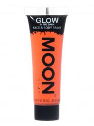 Neonoranssi UV-värigeeli kasvojen ja vartalon iholle 12 ml - Moonglow©