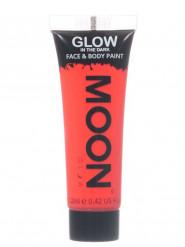 Moonglow © punainen pimeässä hohtava ihomaali, 12 ml