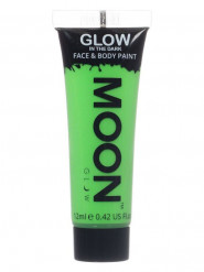 Moonglow © vihreä pimeässä hohtava geeli, 12 ml