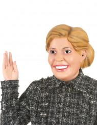 Aikuisten humoristinen lateksinen naamari Kuningatar Maxima