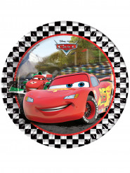 Kartonkilautaset Disney Autot Formula™ 23 cm - 8 kpl