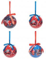 Spiderman™-joulupallot, 4 kpl