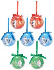 7 Frozen™ Olaf-joulupalloa